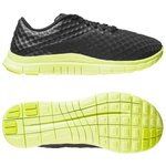 Nike Free Hypervenom Low Sort/Neon