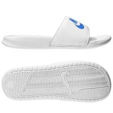 Nike Badesandal Benassi JDI Hvid/Blå