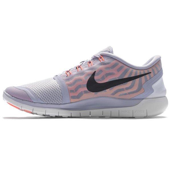 Nike Free Running Shoe 5.0 Titanium/Fuchsia Flash/Hot Lava/Black Women.  Read more about the product. - running shoes. - running shoes. - running  shoes