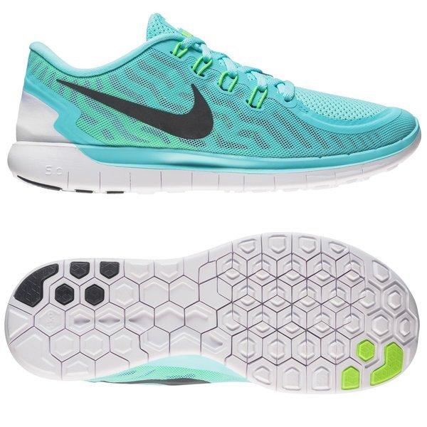 976e44fe54e6 Nike Free Running Shoe 5.0 Light Aqua Light Retro Green Glow Black ...