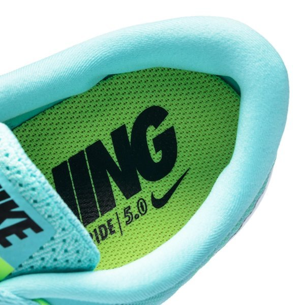 pick up 7207d 6f155 Nike Free Juoksukenkä 5.0 Turkoosi Vihreä Musta Naiset 7