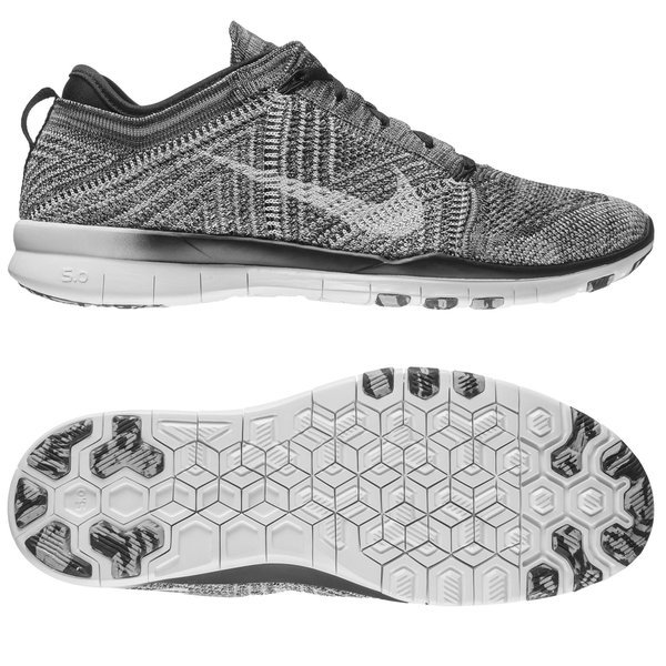 a39fc3e6ed37 ... wholesale nike free tr 5 flyknit black wolf grey white women. read more  about the