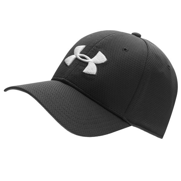 under armour cap blitzing ii stretch fit black - caps ... 0084dc6cde0