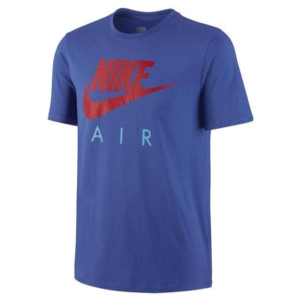 Nike Shirt T Puff Blårød Air pwA4Bqw8