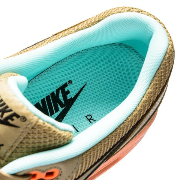 Nike Air Max 1 FB BruinOranjeTurquoise   unisportstore.nl