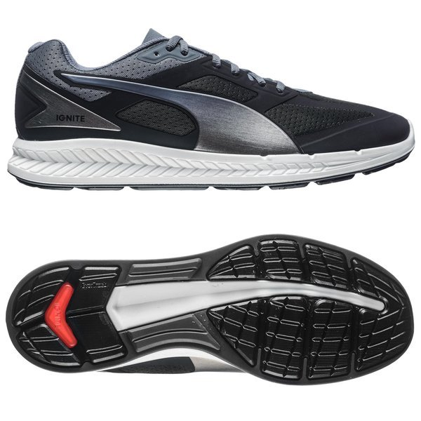 cd36c6011791 Puma Running Shoe Ignite Black Turbulence Puma Silver