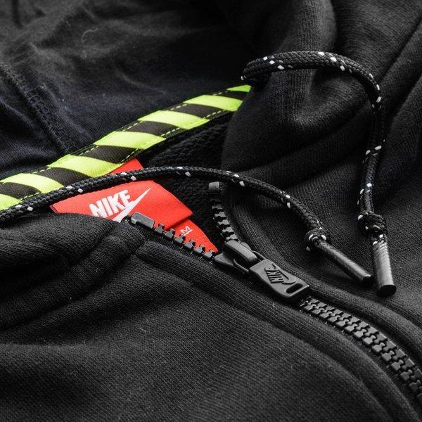 Nike Luvtröja Track & Field Cropped GråVit Dam