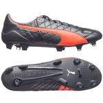 Puma evoSPEED SL Skind FG Navy/Orange/Hvid
