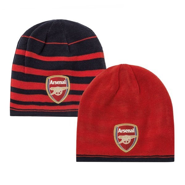 ad9a3c0c Arsenal Beanie Performance High Risk Red/Black Iris | www ...