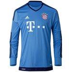 Bayern München Målmandstrøje 2015/16 Blå
