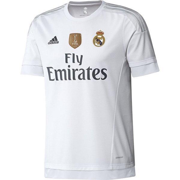 85bcd823 Real Madrid Hjemmedrakt 2015/16 + FIFA Club World Cup Winner Logo ...