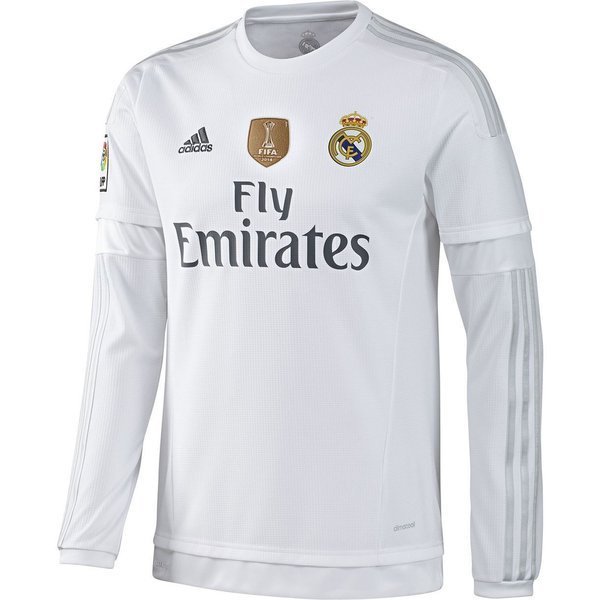 save off c7e08 790e9 Real Madrid Home Shirt 2015/16 L/S + FIFA Club World Cup ...
