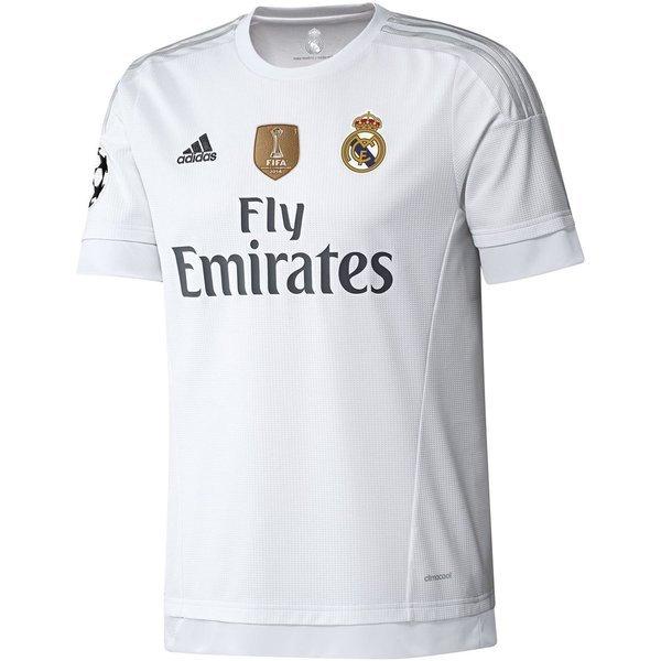 new product 821b7 aa760 Real Madrid Home Shirt 2015/16 Champions League + FIFA Club ...