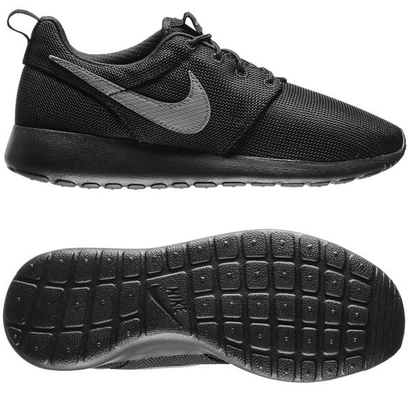 check out d95e0 aca08 Nike - Roshe One Svart Grå Barn