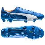 Puma evoSPEED SL FG Blau/Weiß/Orange