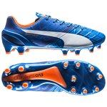 Puma evoSPEED 1.4 FG Blau/Weiß/Orange