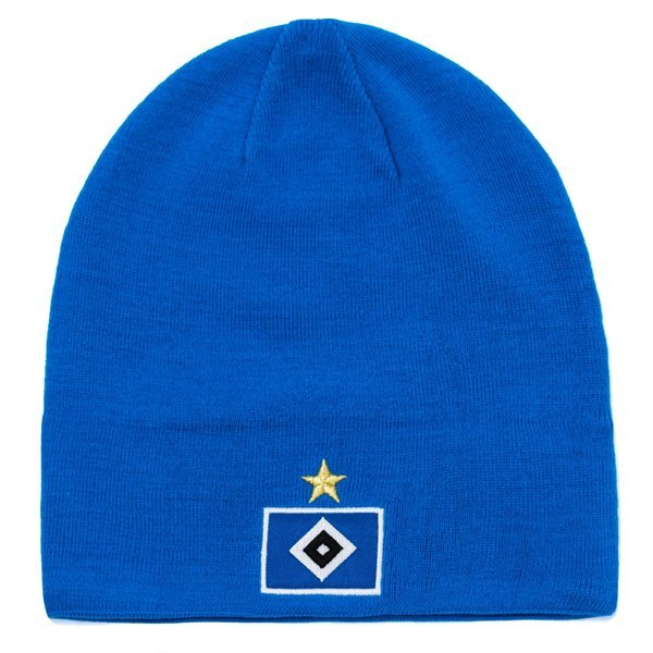 hamburger sv beanie 3s bright blue white ... 4f992da6bae9