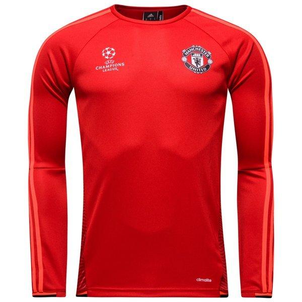 manchester united maillot d 39 entra nement champions league rouge noir. Black Bedroom Furniture Sets. Home Design Ideas