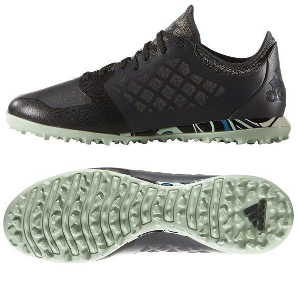 82e23d56b0bf adidas X 15.1 Cage TF City Pack Solid Grey Core Black Frozen Green ...