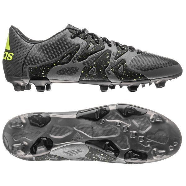 size 40 a4a82 b1e09 adidas X 15.3 FG AG Core Black Solar Yellow Night Metallic. Read more about  the product. - football boots. - football boots image shadow