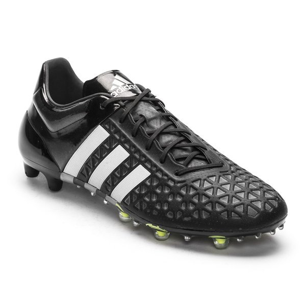 9e9d14b32 adidas Ace 15.1 FG AG Core Black Silver Metallic Solar Yellow