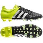 adidas Ace 15.2 FG/AG Sort/Gul/Hvid