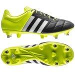adidas Ace 15.3 Skind SG Sort/Gul/Hvid