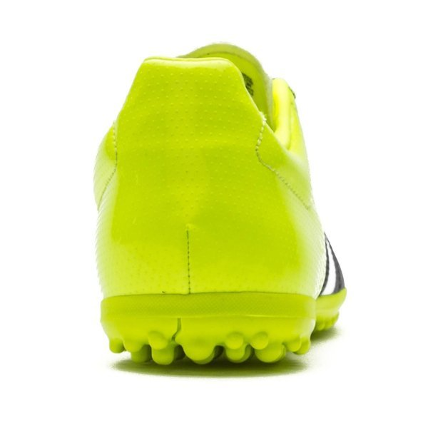 brand new 07b54 d0bfb adidas Ace 15.3 Leather TF Core Black/White/Solar Yellow ...