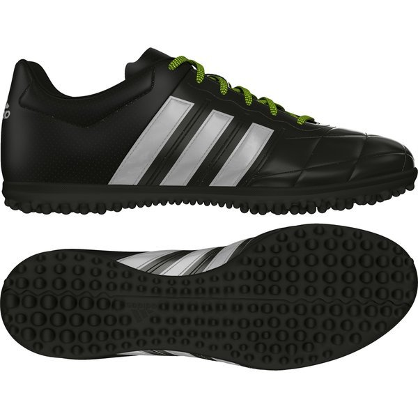 super popular 340e2 952de adidas Ace 15.3 Leather TF Core Black/Silver Metallic/Solar ...