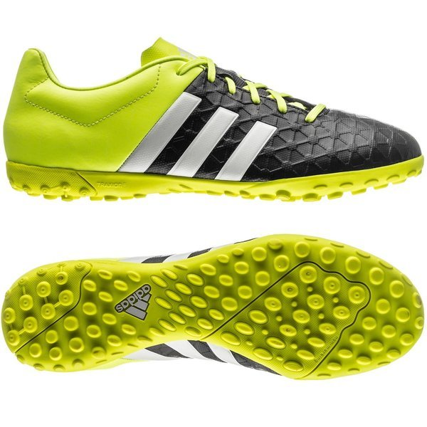 pretty nice e5aa6 1259c adidas Ace 15.4 TF Core Black/White/Solar Yellow | www ...
