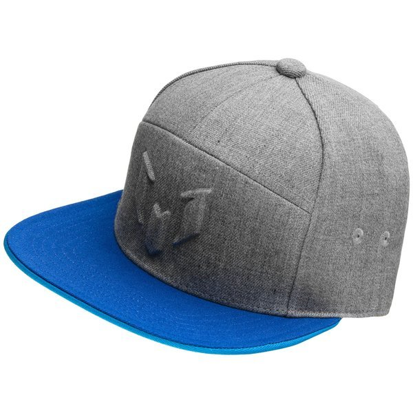 088ac96067f adidas Cap Snapback Messi Medium Grey Heather Bold Blue Solar Blue ...