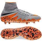 Nike Hypervenom Phantom II FG Grå/Orange/Sort