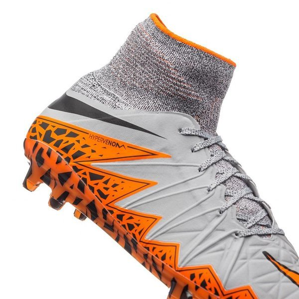 pretty nice 4d6b8 ca2b1 Nike Hypervenom Phantom II FG Wolf Grey/Total Orange/Black ...