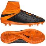 Nike - Hypervenom Phantom II Läder FG Svart/Orange