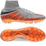 Nike Hypervenom Phatal II AG Grå/Orange/Sort