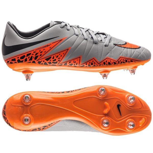eabb40f8657 Nike Hypervenom Phelon II SG Wolf Grey Total Orange Black