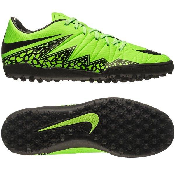 132608749 €75. Price is incl. 19% VAT. -50%. Nike Hypervenom Phelon II TF Green Strike /Black