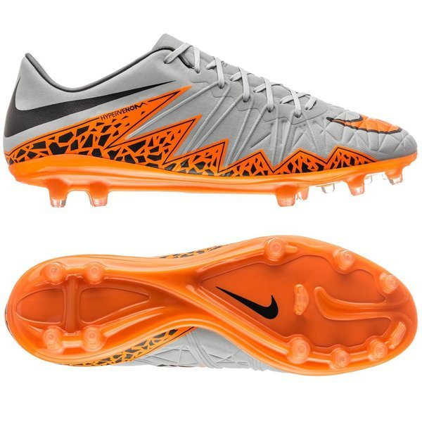 100% authentic 13a55 b39c1 Nike Hypervenom Phinish FG Wolf Grey Total Orange Black. Read more about  the product. - football boots. - football boots image shadow