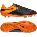 Nike Hypervenom Phinish Skind FG Sort/Orange