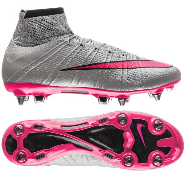 purchase cheap 077f1 45ab2 Nike Mercurial Superfly SG-PRO Wolf Grey/Hyper Pink/Black ...