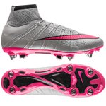 Nike Mercurial Superfly SG-PRO Grå/Pink/Sort