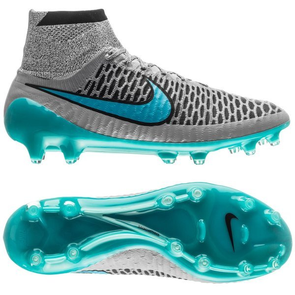 817c55479387 Nike Magista Obra FG Wolf Grey Turquoise Blue Black