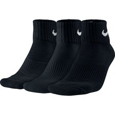 Nike Enkelsokken Cushion 3-Pak Zwart