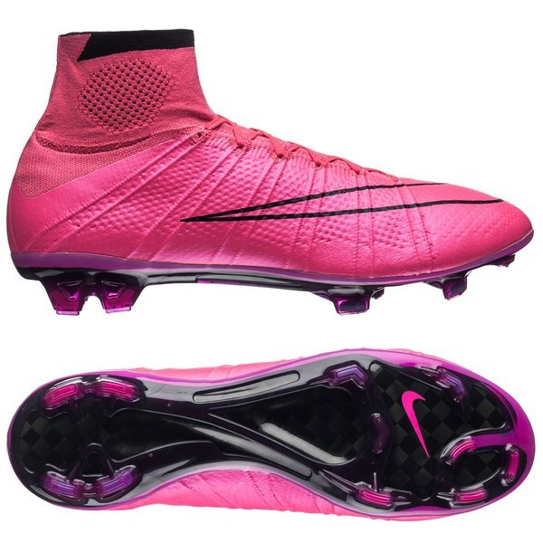 Nike Mercurial Superfly FG Hyper Pink Black  a4e602d486ef7