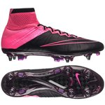 Nike Mercurial Superfly Leather SG-PRO Musta/Pinkki