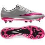 Nike Mercurial Vapor X SG-PRO Grå/Pink/Sort