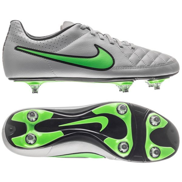size 40 8682a 71c2c Nike Tiempo Rio II SG Wolf Grey Green Strike Black   www ...