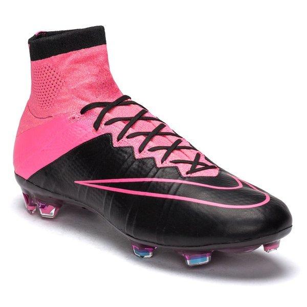 cute cheap quite nice large discount Nike Mercurial Superfly Leder FG Schwarz/Pink