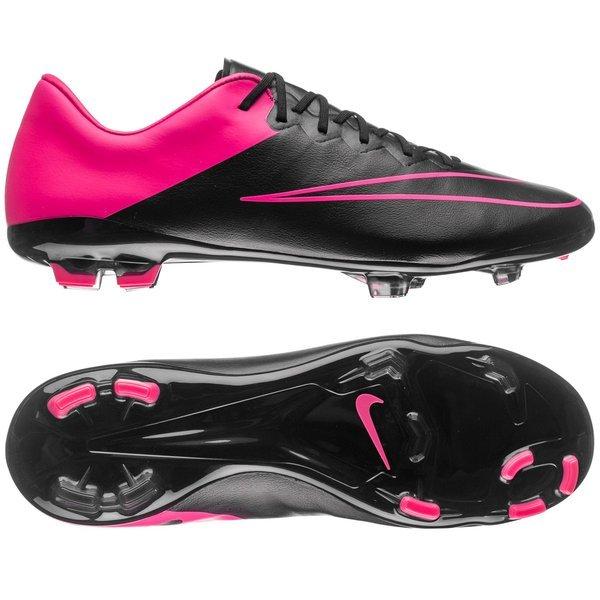 Nike - Mercurial Vapor X FG Svart Rosa Barn. Läs mer om produkten. -  fotbollsskor. - fotbollsskor image shadow f1497dc1b6353
