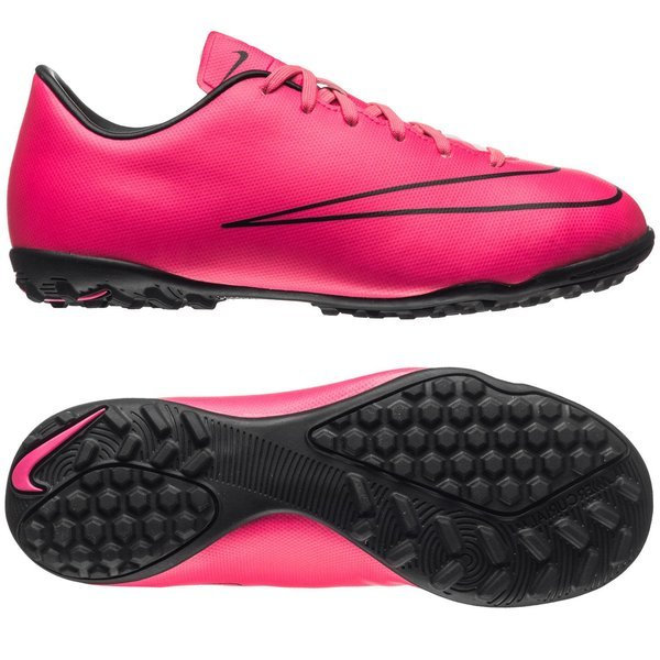Nike Youth Mercurial Victory V Turf Hyper Pink//Black//Hyper Pink